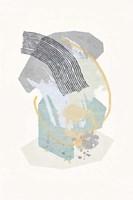 Lichen Rocks No. 1 Framed Print