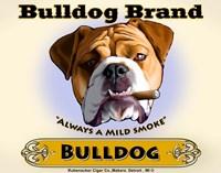 Bulldog Cigar Fine Art Print