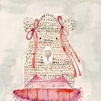 Ballerina Bear Fine Art Print