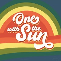 One with the Sun Fine Art Print