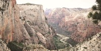 Zion from Above Fine Art Print