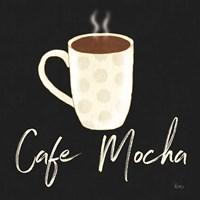 Fresh Coffee Cafe Mocha Framed Print
