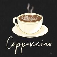 Fresh Coffee Cappucino Framed Print