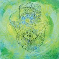 Hamsa Eye Fine Art Print