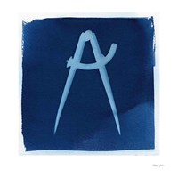 Cyanotype Tools XIV Framed Print
