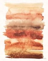 Desert Blooms Abstract I Fall Framed Print