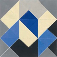 Triangles IV Framed Print