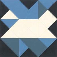 Triangles III Framed Print