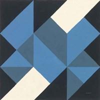 Triangles I Framed Print