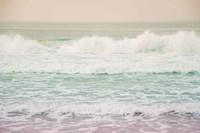 Morning Wave I Framed Print