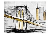 City Of Gold 1 Framed Print