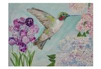 Feeding Spring Friend Fine Art Print