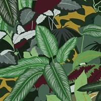 Jungle Safari II Framed Print