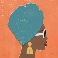 Kenya Couture I Bright Framed Print