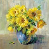 Sunflower Still Life II Framed Print