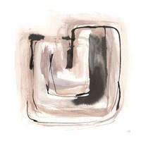 Lost in Squares IV Framed Print