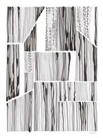 Lined Up III Framed Print