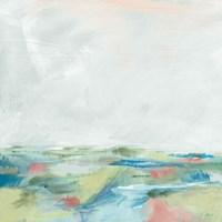 Blue Horizon Sq I Framed Print