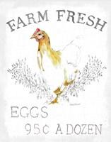 Farm Fresh Enamel v2 Framed Print