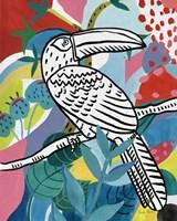 Jungle Toucan Framed Print