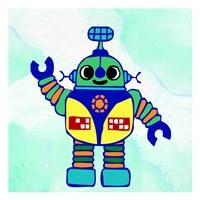 Robot 1 Framed Print