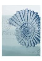 Seaside Card 2 V2 Framed Print