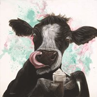 Moo Latte Fine Art Print