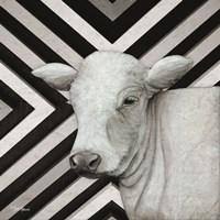 January Cow II Framed Print