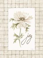 Joy Flower Framed Print
