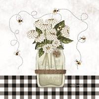 Bee Blessed Framed Print