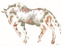 Navajo Horse 2 Framed Print