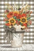 No. 4 Autumn Floral Arrangement Fine Art Print