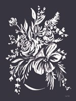 Blues in Blossom I Fine Art Print