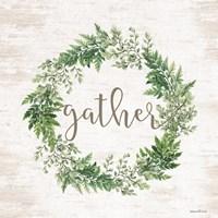 Gather Wreath Fine Art Print