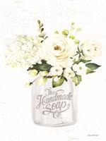 Bathroom Flower Jar Fine Art Print