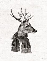 Holiday Reindeer Fine Art Print