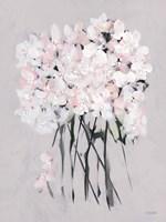 Romantic Floral I Framed Print