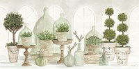 Nice and Neutral Plant Collection Fine Art Print