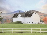 Adirondack Farm Framed Print