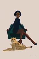 Wild Lounge II Fine Art Print