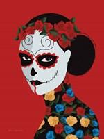 Dia de Los Muertos II Framed Print