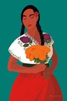 Mexican Woman II Framed Print