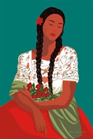 Mexican Woman I Fine Art Print