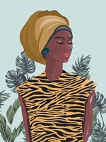 Strength and Beauty I Framed Print