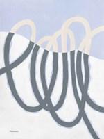 Loops I Framed Print