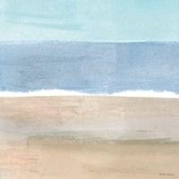 Soft Shores X Framed Print