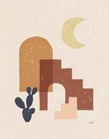 Desert Arches I Framed Print