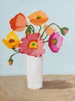 Sorbet Poppies III Framed Print