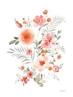 Floral Serenade IV Framed Print