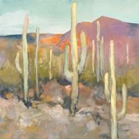 High Desert I Framed Print